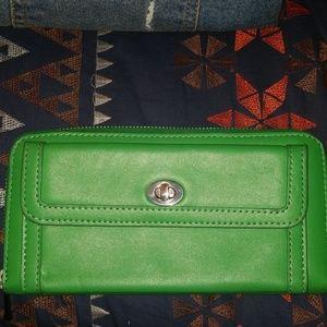 Green Danier wallet